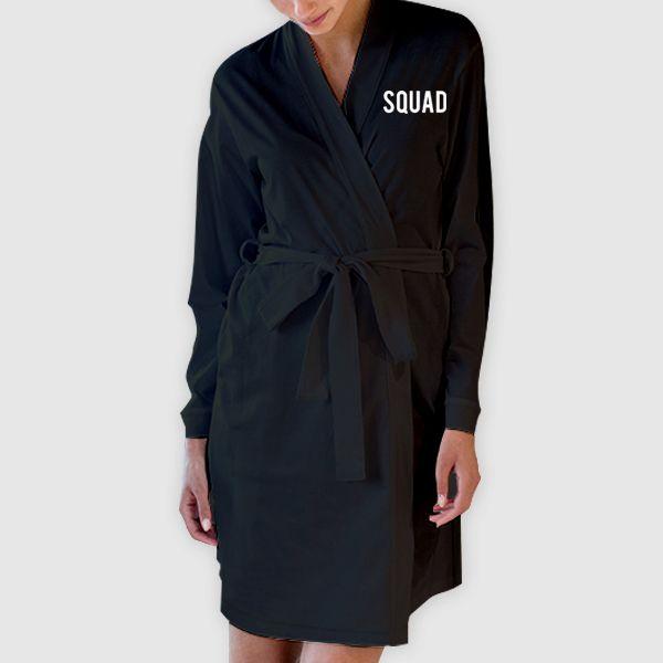 Squad Women\'s Kimono Robe Dressing Gown   #Quote #Slogan ...