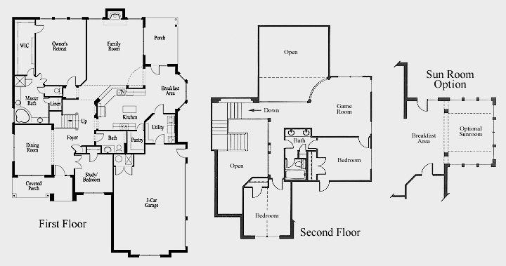 The Austin New Home Floor Plan Oklahoma City Edmond Floor Plans New House Plans House Floor Plans