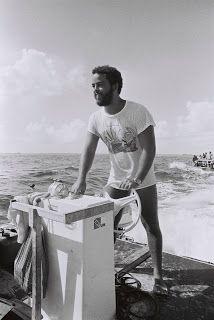 Former divemaster at Small Hope Bay Lodge Andros Island Bahamas 1972. Great old photo!