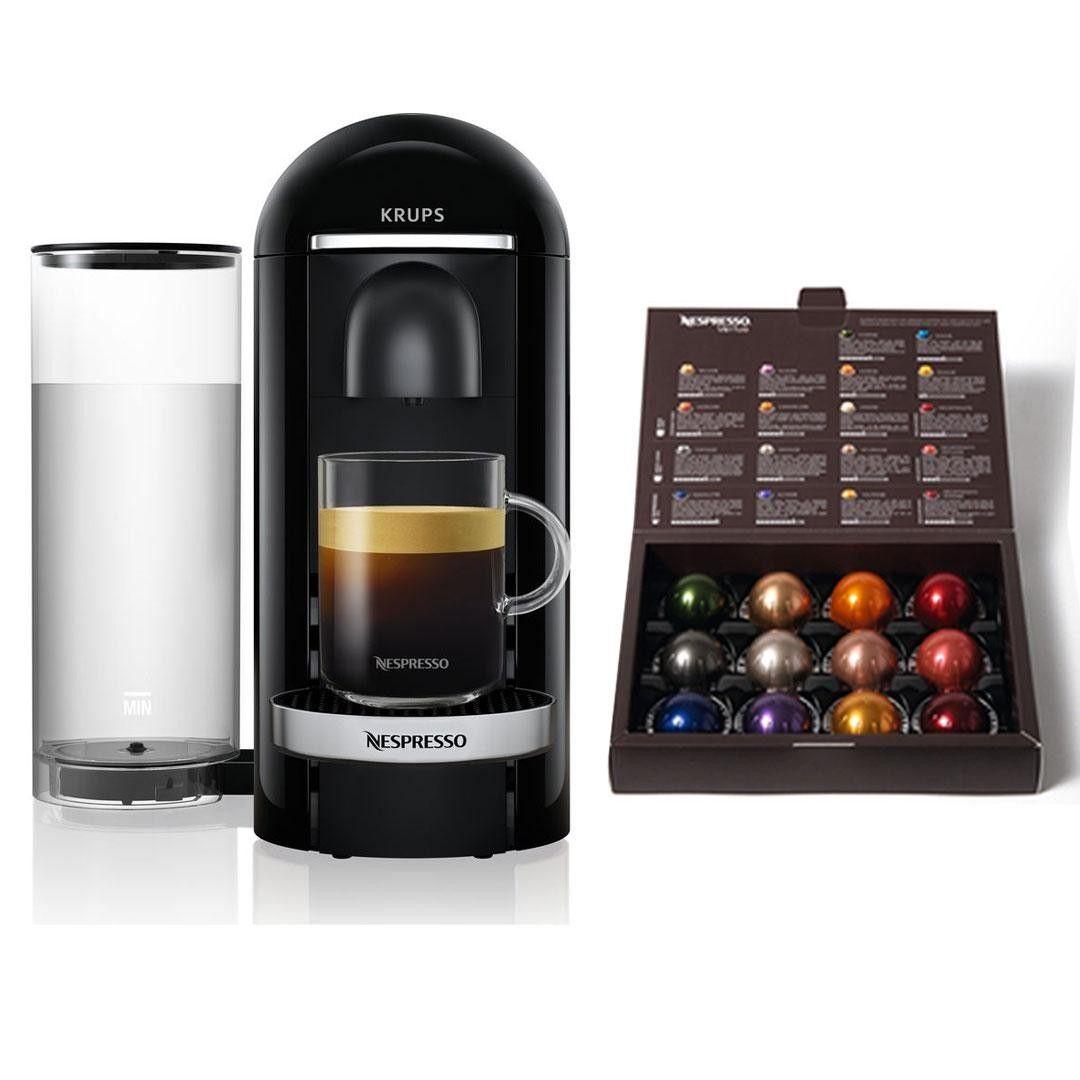 Krups Vertuo Nespresso Coffee Machine with Coffee Pods