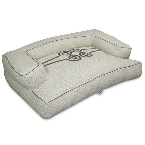 sofa luxe beige pour chiens l 118 x l 77 cm 36 cm 109 90 s 39 adapte la constitution du. Black Bedroom Furniture Sets. Home Design Ideas