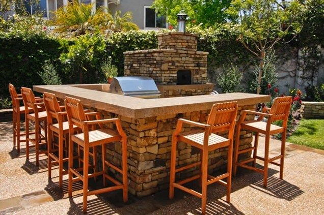 Outdoor Pizza Oven Outdoor Kitchen Oakbrook Landscape, Inc ...