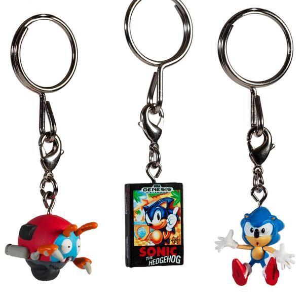 Sonic The Hedgehog Blind Box Keychain Series Kidrobot 9 Sonic The Hedgehog Sonic Hedgehog