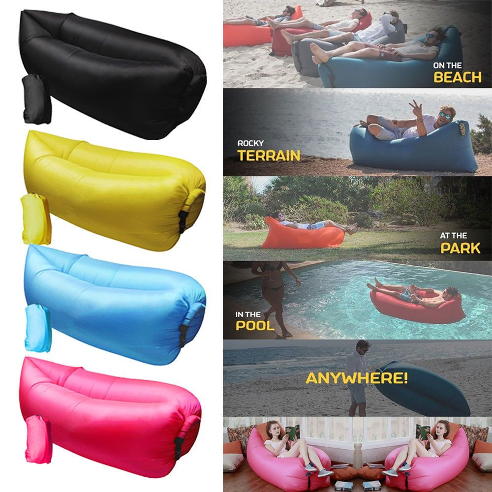 Inflatable Couch Air Sofa Pouch