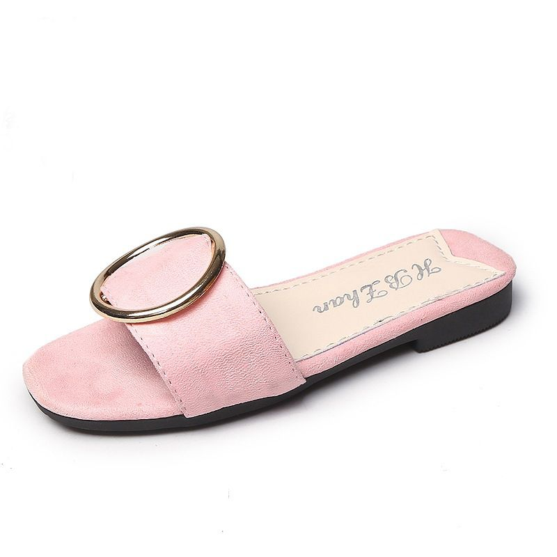 Click to Buy << summer new children slippers Girls casual