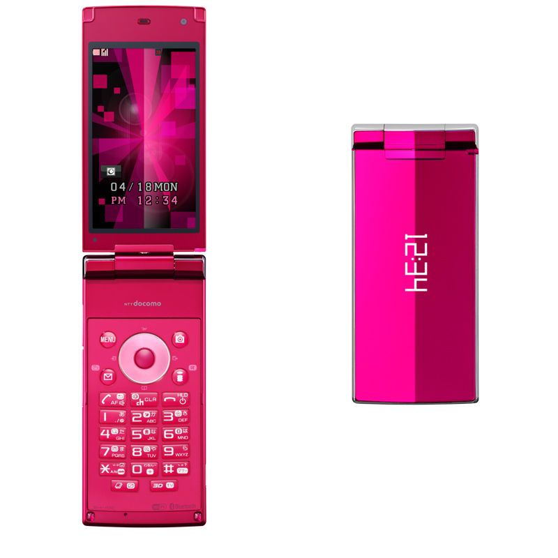 Docomo sharp sh-10c aquos hd 3d japanese flip phone unlocked