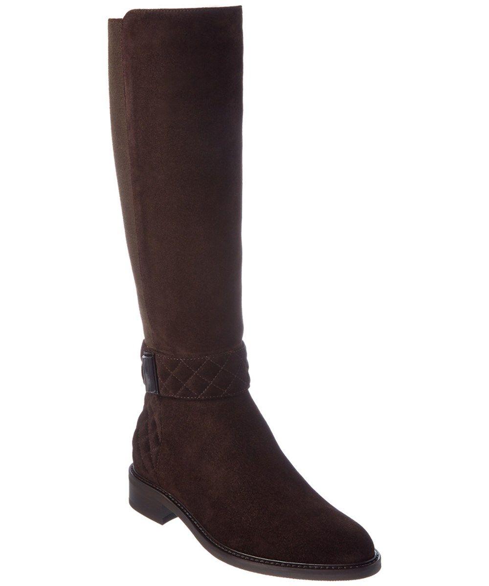 2ef43883fccb AQUATALIA Aquatalia Gabrielle Waterproof Suede Boot. #aquatalia #shoes #