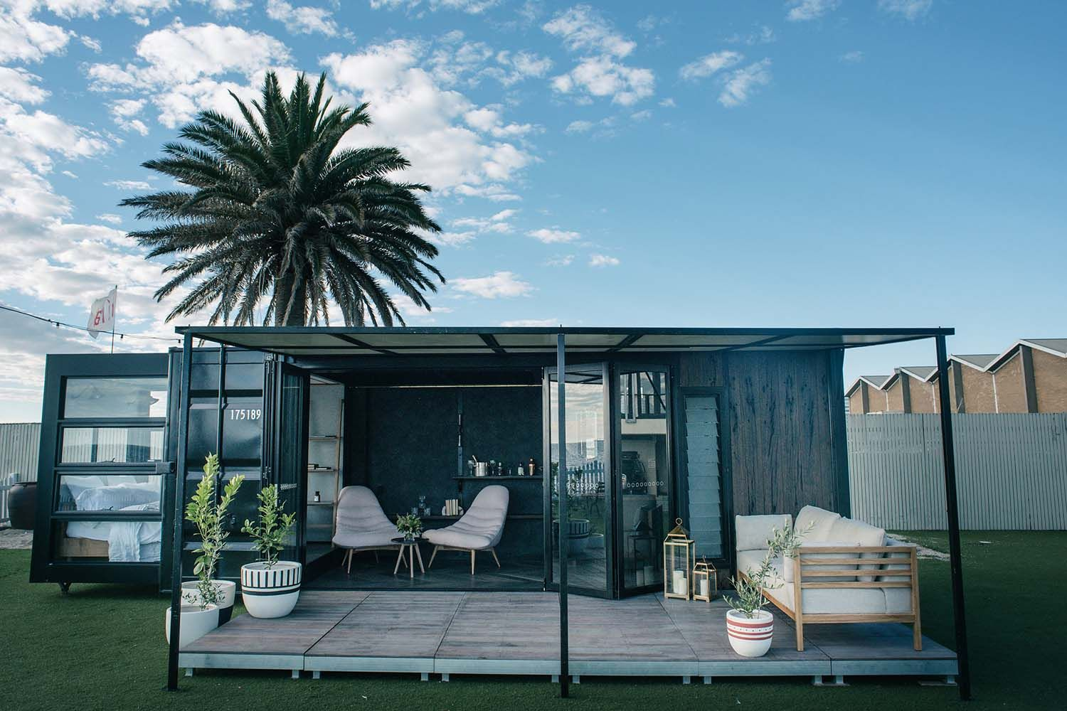 A Luxury Shipping Container Home From