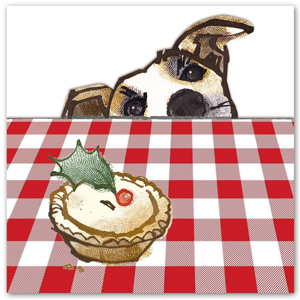 Christmas and mince pies go hand in hand! Cute #Christmascards from ...