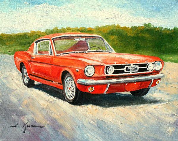 Ford Mustang 1965 by Luke Karcz