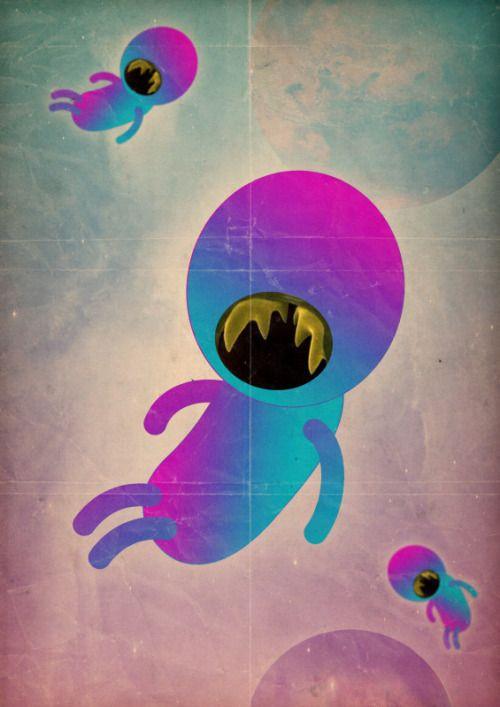 "marco puccini — marco puccini ""bimbo cosmico"" | Illustrations ..."