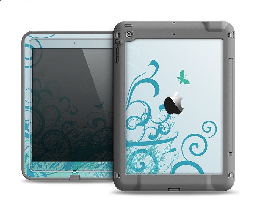 new style 8c4f1 5f611 iPad Cases - The Escaping Butterfly Floral Apple iPad Air LifeProof ...