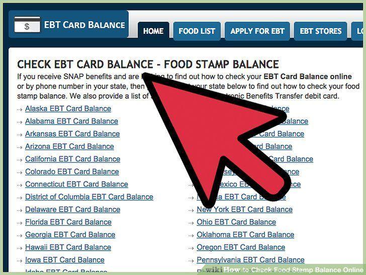 Check balance on food stamp card httpwwwvalery