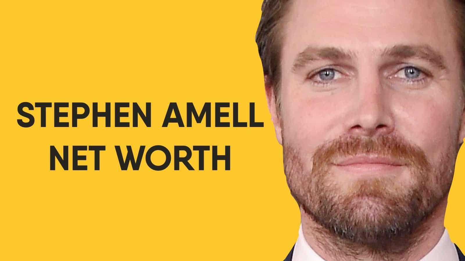 Stephen Amell Net Worth In 2020 Stephen Amell Cassandra Jean
