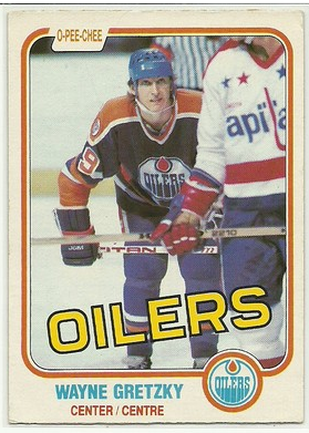 Wayne Gretzky 1981 82 O Pee Chee 106 Wayne Gretzky Hockey Cards Sports Cards Collection