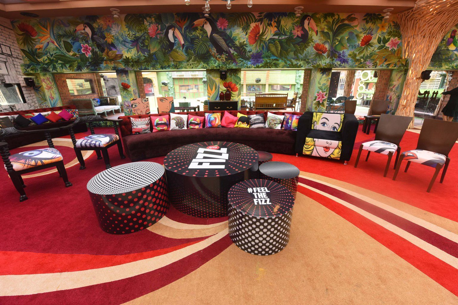 Big Boss 11 House Pictures For Bigg Boss Fans House Interior