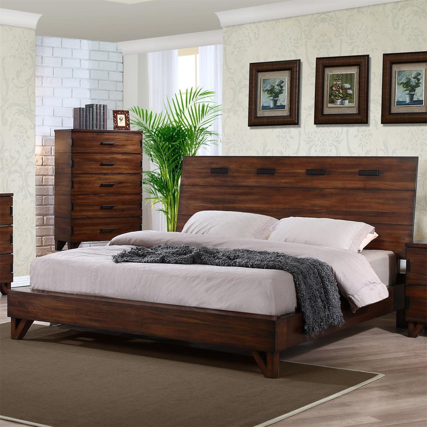 Avalon Collection By Coaster 999 Includes Queen Bedframe Dresser