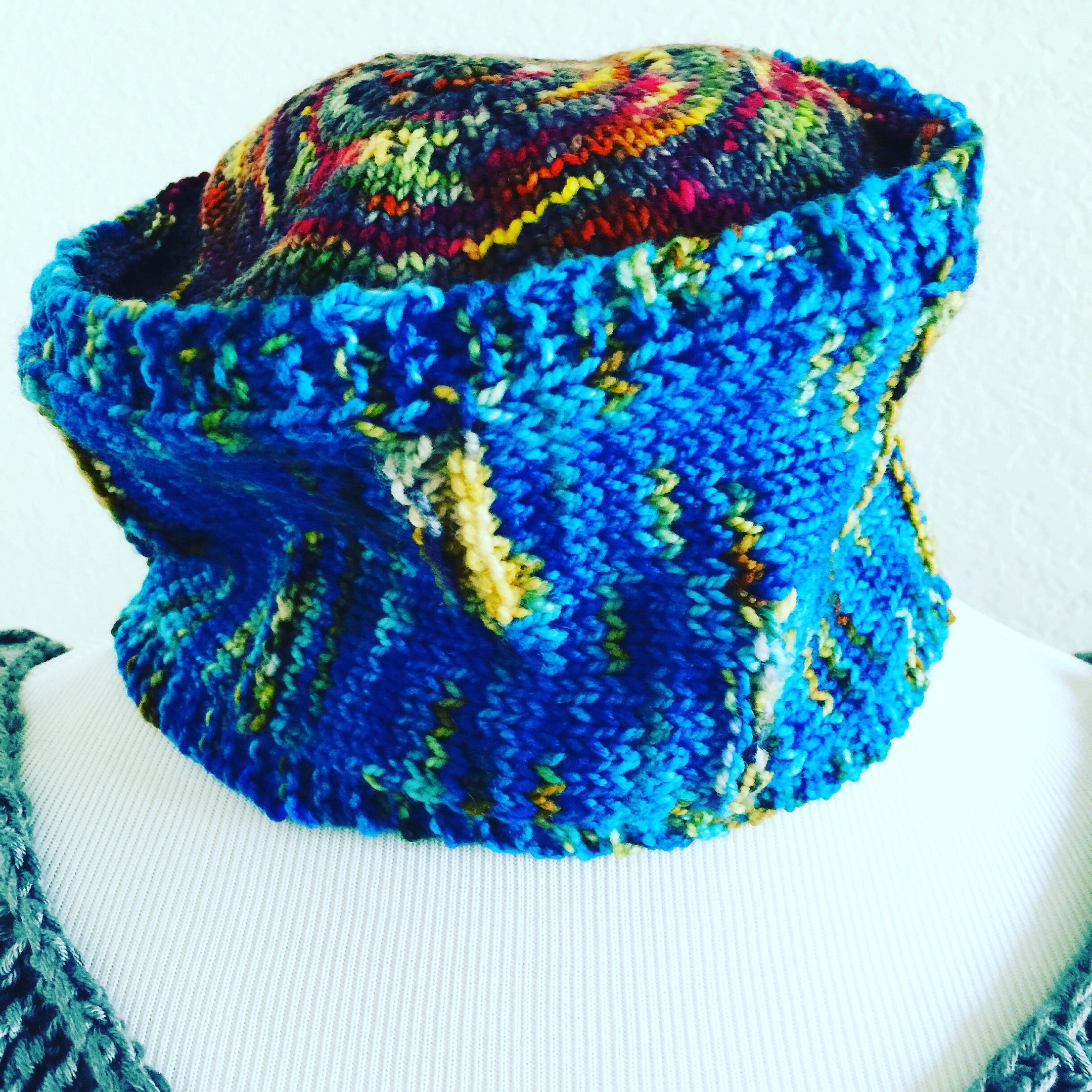 The all new Aix hat for the whole family. Knitting pattern on www ...