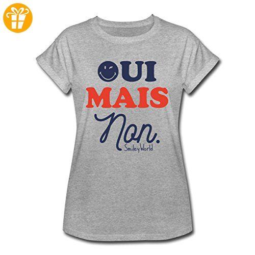 Smiley World Oui Mais Non Französisch Spruch Frauen Oversize T-Shirt von  Spreadshirt®,