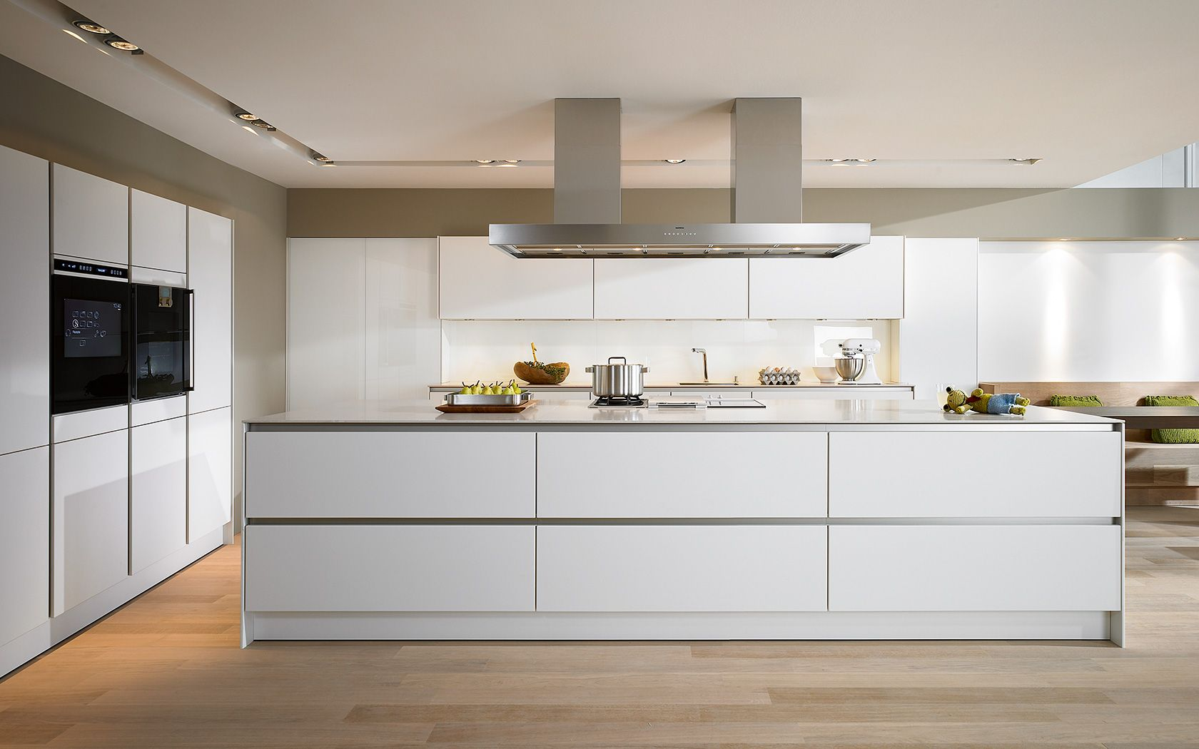 Moderne k che ohne griff s2 pinteres for Siematic kitchen design