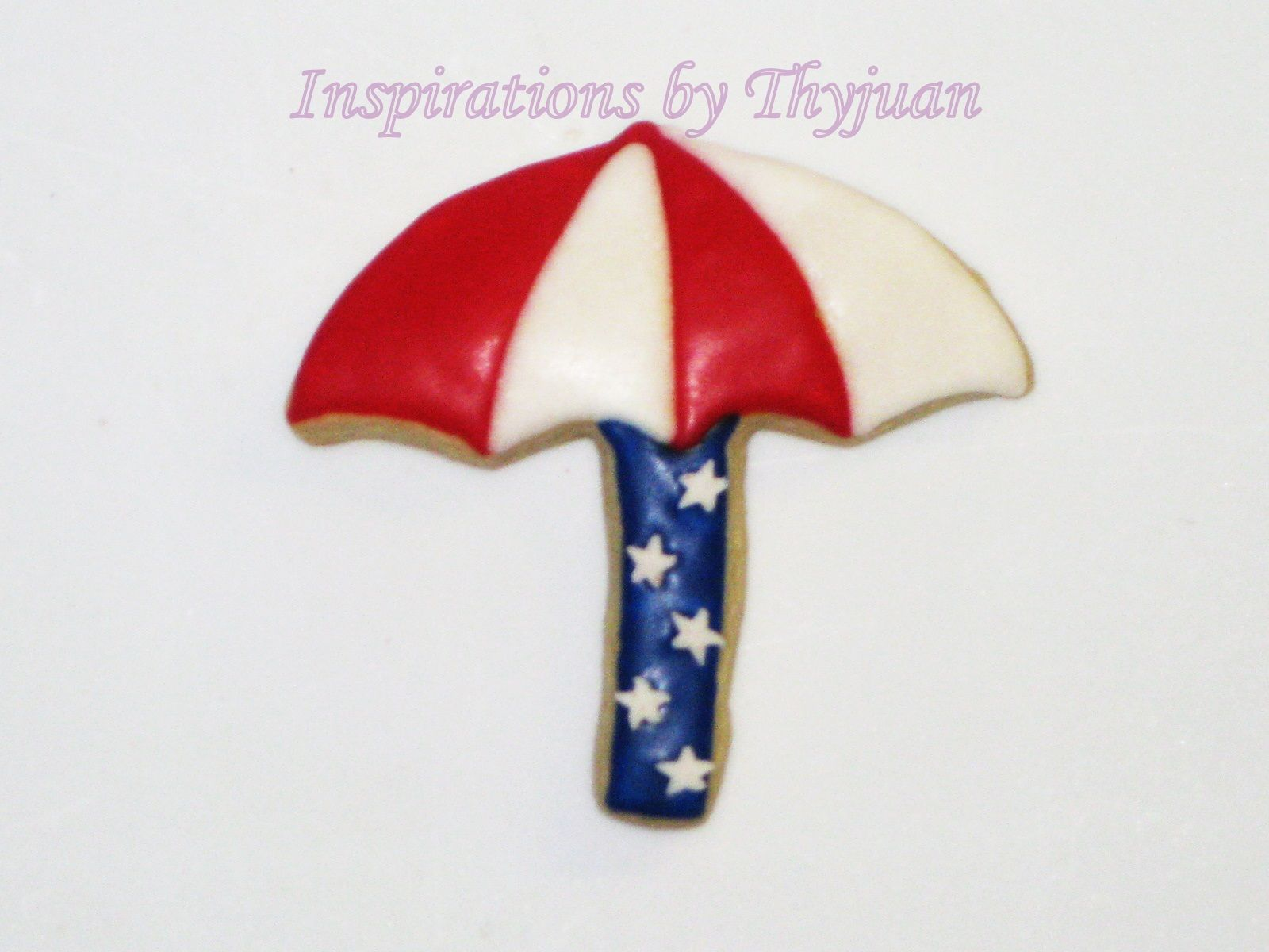 4th of July Umbrella - Inspirations by Thyjuan