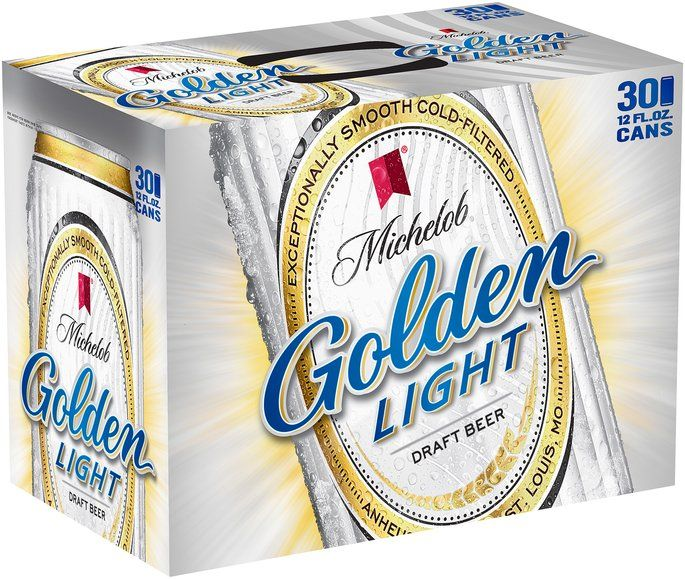 Michelob Golden Draft Light 12 Oz Beer 30 Pk Cans Reviews Q A Influenster Beer Light Beer Canning