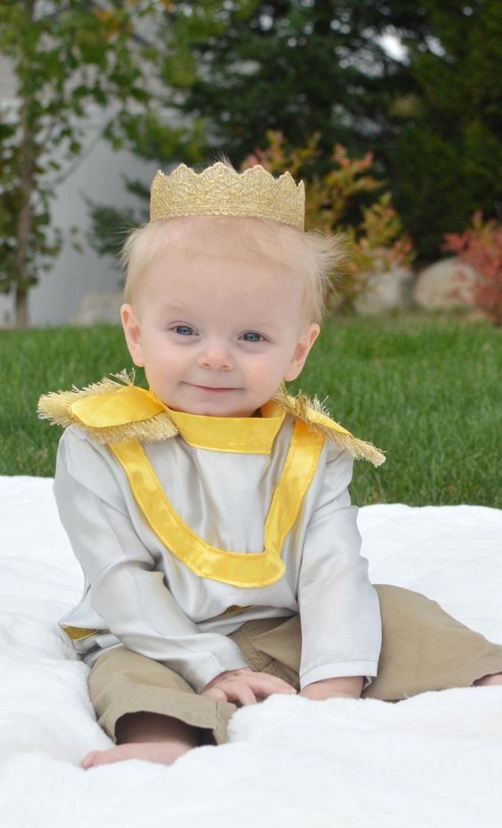 Little prince infant or toddler halloween costume prince costume homemade little prince costume for a baby or toddler mommy scene solutioingenieria Images