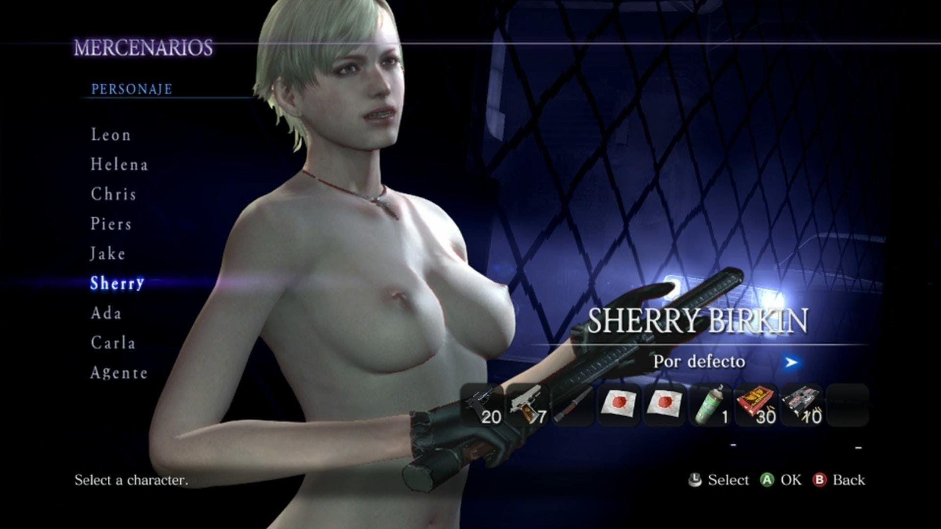 Resident evil 6 hentai