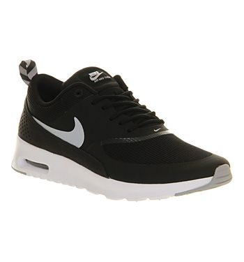 Nike Air Max Thea Black Wolf Grey White Hers trainers