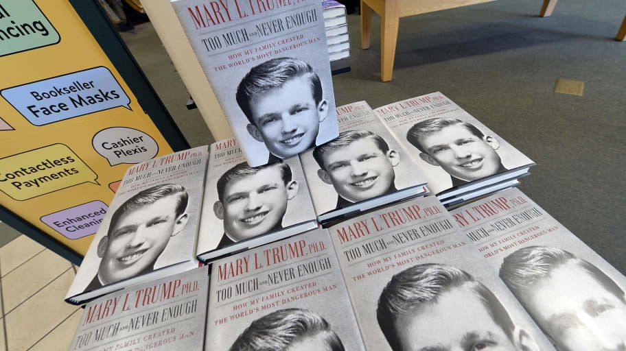 Mary Trump's exposee of the Trump family goes on sale after bid to stop publication fails. 14 July/20