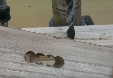 Learn How To Make A Mortise And Tenon Joint Using A Drill