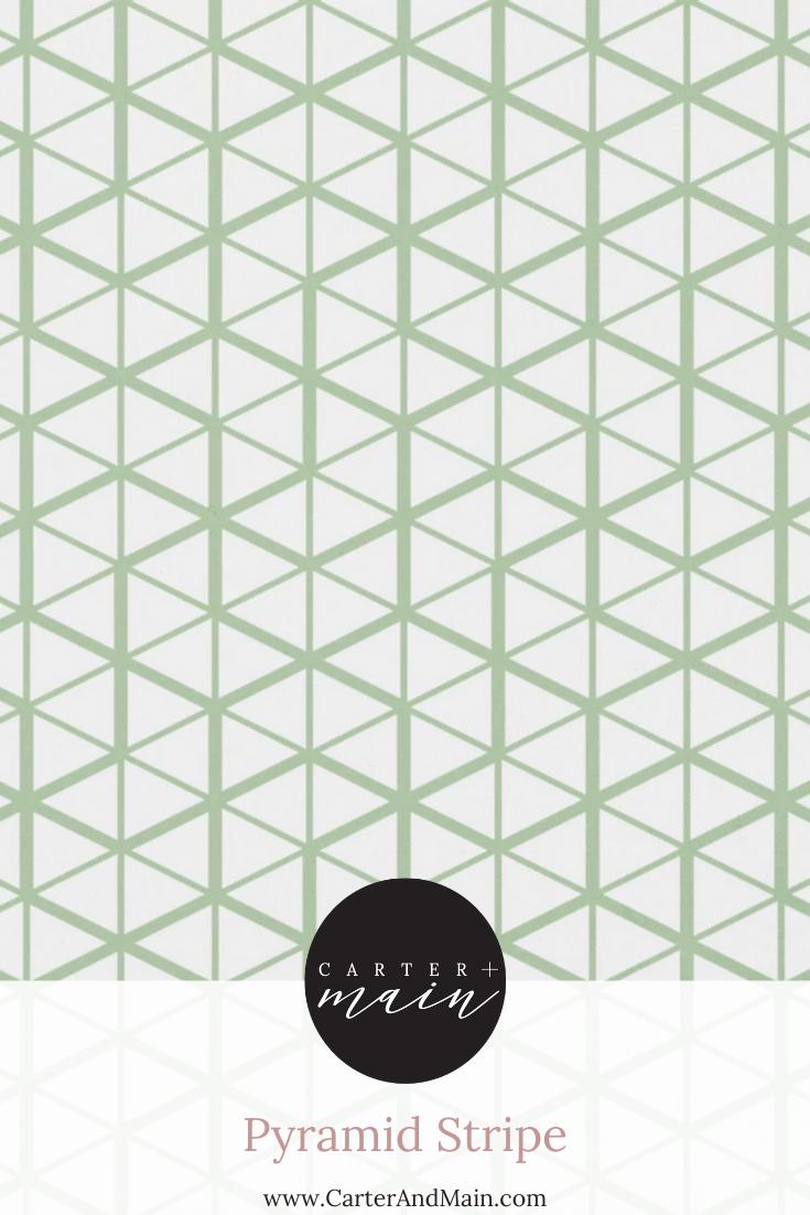 Pyramid Stripe Peel And Stick Wallpaper Geometric Triangle Triangle Pattern