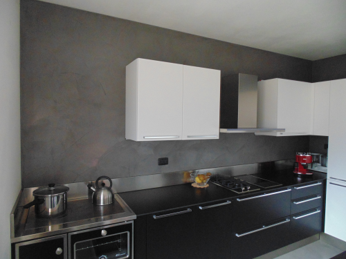 rivestimento resina cucina - Cerca con Google | kitchens & dining ...