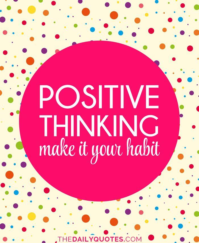 Thinking Quotes, Positive Thinking