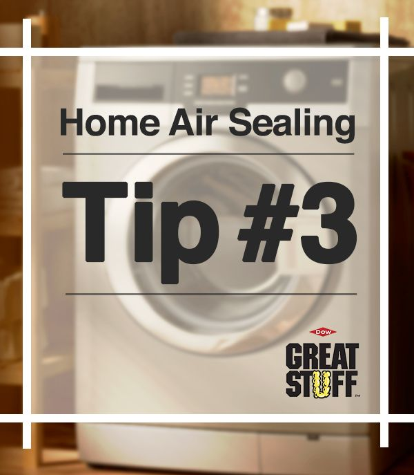 Home Air Sealing Tip #3: Seal around water and waste pipes