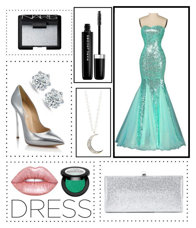 """""""Untitled #1024"""" by erikabousook ❤ liked on Polyvore featuring Accessorize, Lime Crime, Casadei, Jimmy Choo, Marc Jacobs and NARS Cosmetics"""