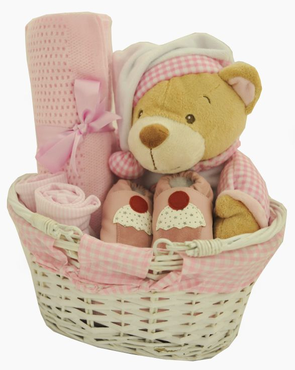 Adorable gingham baby girl gift basket baby girl gift baskets adorable gingham baby girl gift basket available online at httpbabycity negle Choice Image