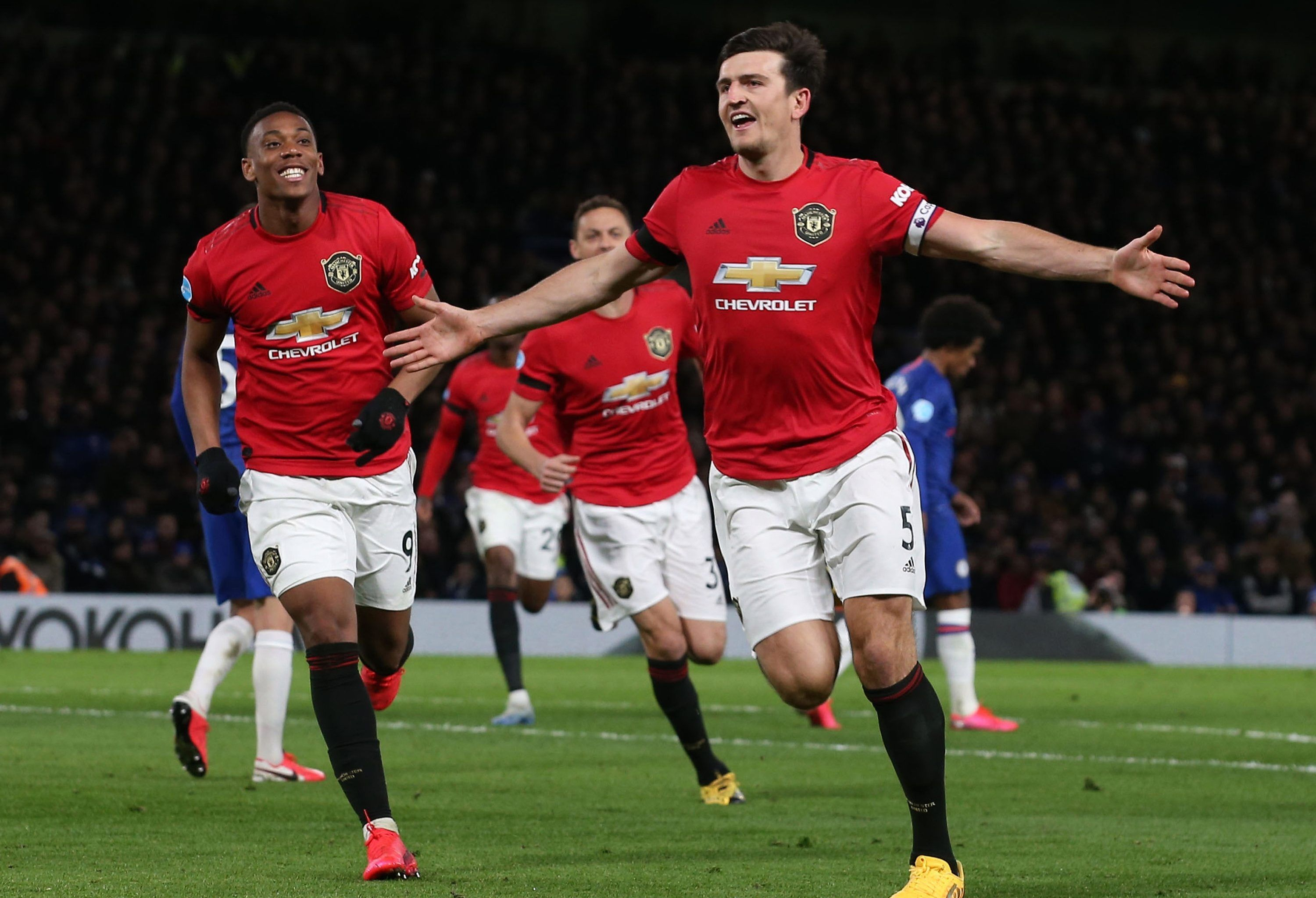 Harry Maguire Predicted Exactly How Hed Score First League Goal For Manchester United Against Chelsea Br In 2020 Manchester United Premier League Goals Chelsea Players