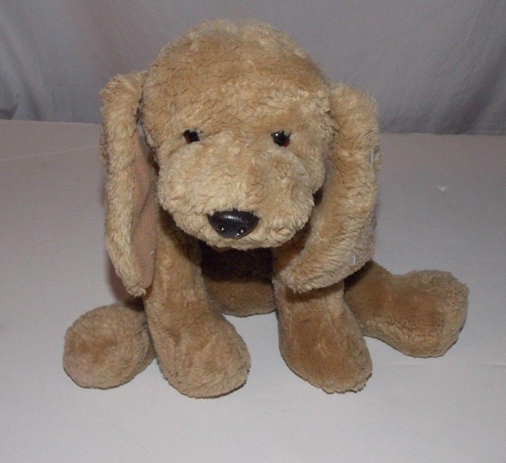 Gund Puddles Brown Puppy Dog Plush Stuffed Animal 14 5317 Red Collar Plush Stuffed Animals Brown Puppies Puppies [ 915 x 1000 Pixel ]