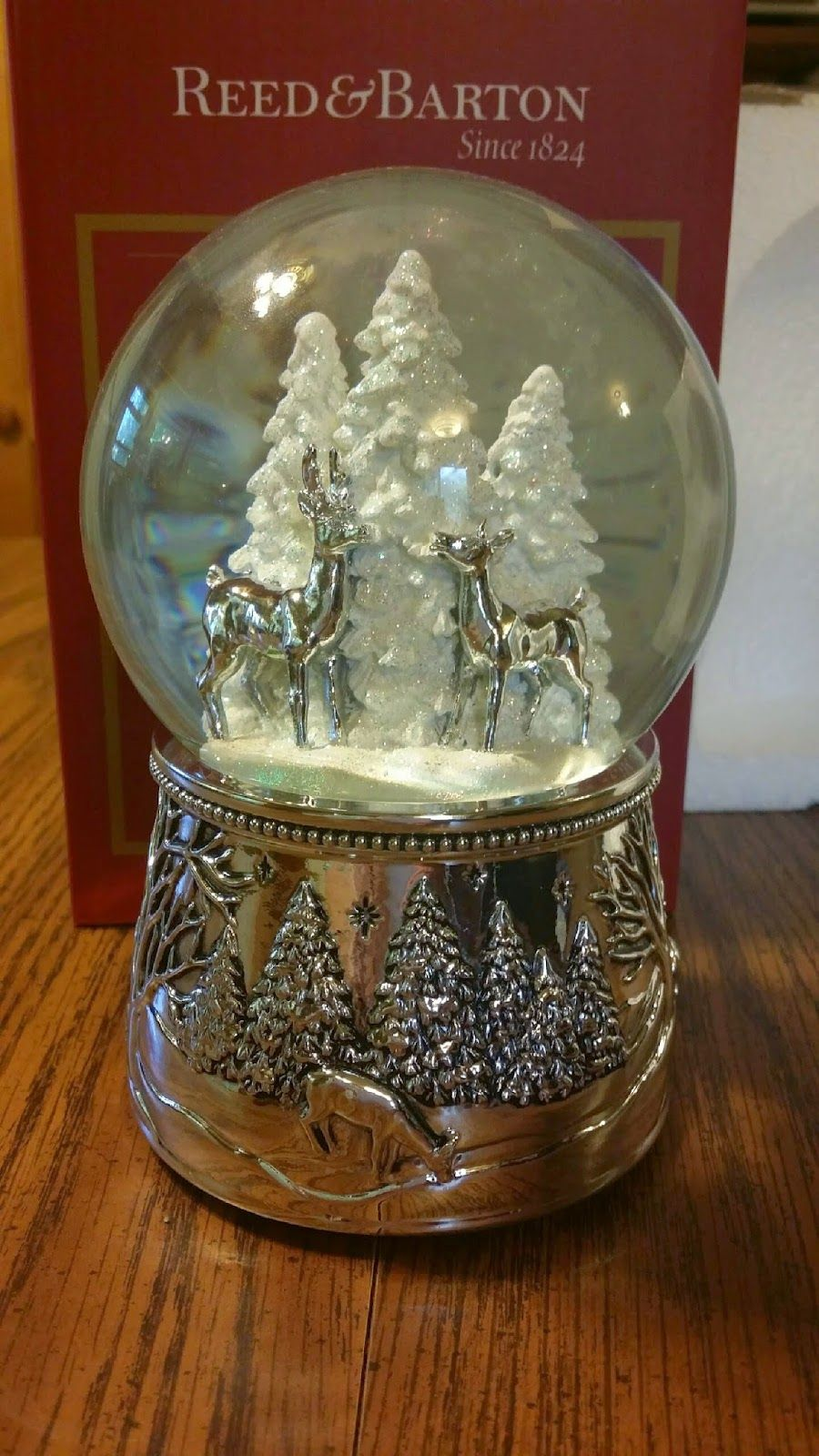 Alpine Forest Snow Globe | Giveaways/Sweepstakes | Pinterest | Globe ...