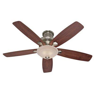 Hunter Fan Company 60-in Regalia Brushed Nickel Indoor Ceiling Fan