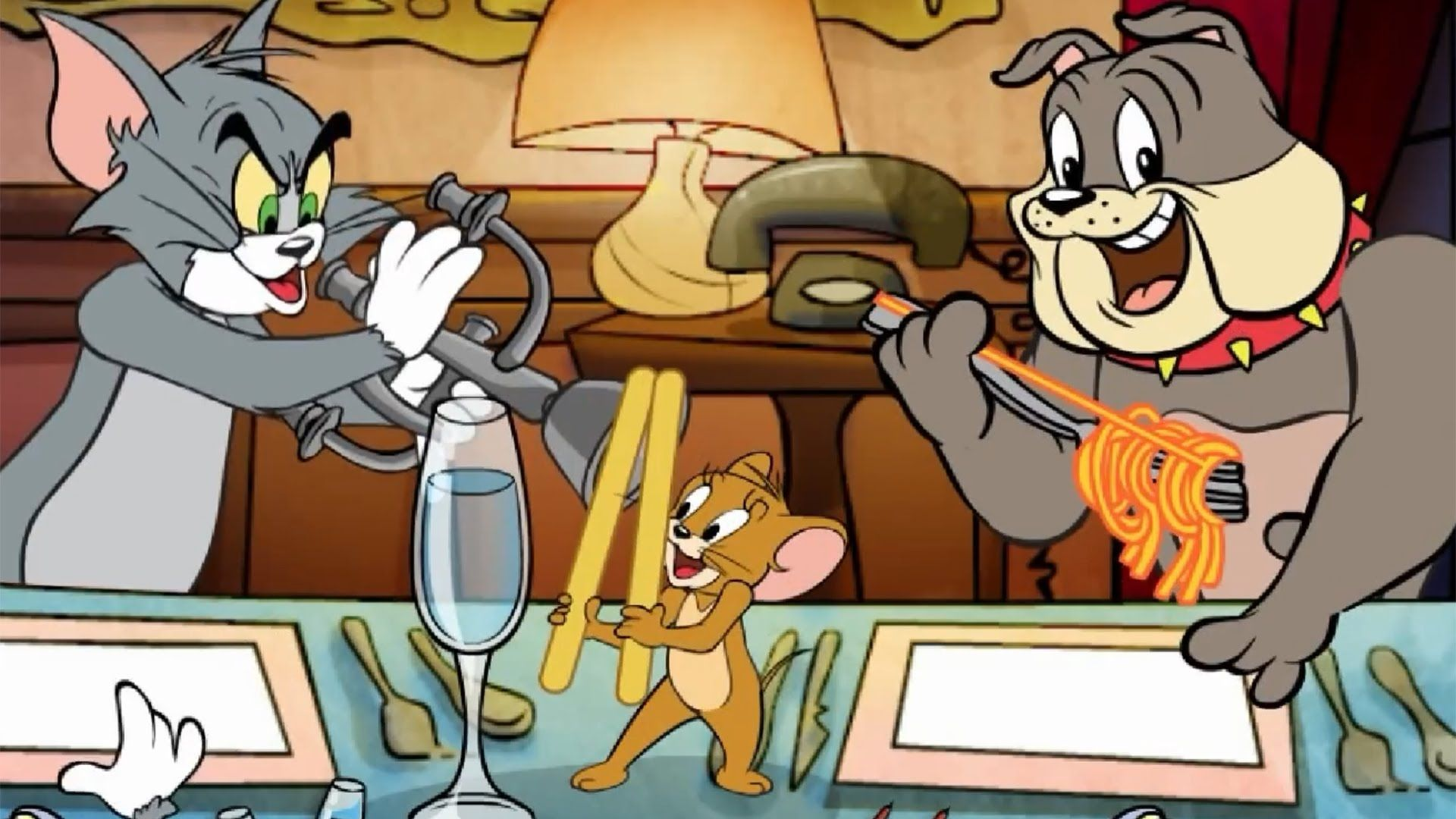 Tom And Jerry Movie Game Suppertime Serenade Episode Online Cartoon Games Tom And Jerry Movies Tom And Jerry Wallpapers Online Cartoons
