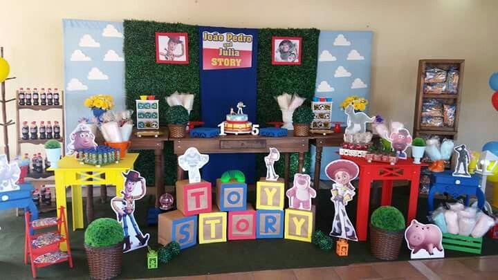 Decoração provençal linda do Toy Story