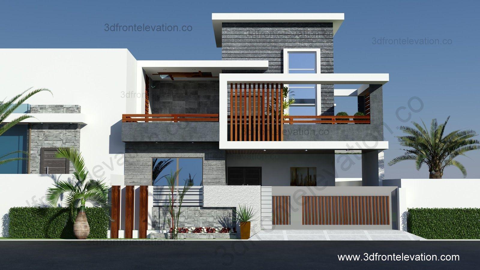 Best Kitchen Gallery: Modern House Front Elevation Designs Buscar Con Google Fachadas of Front Modern House Designs on rachelxblog.com