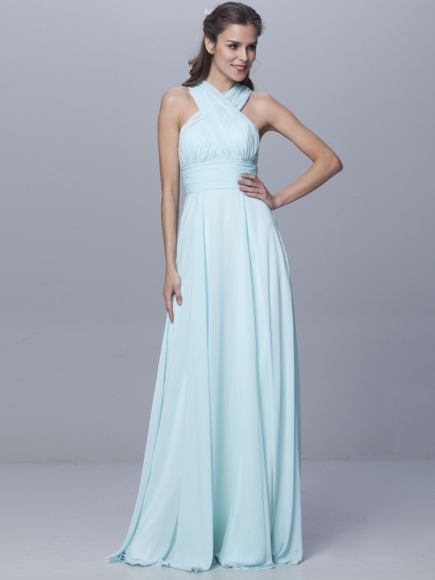 6-way Convertible Dress | Bridesmaids Dresses | Pinterest