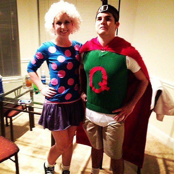 Patti Mayonnaise and Doug as Quailman | Mayonnaise ... Quailman Doug Costume