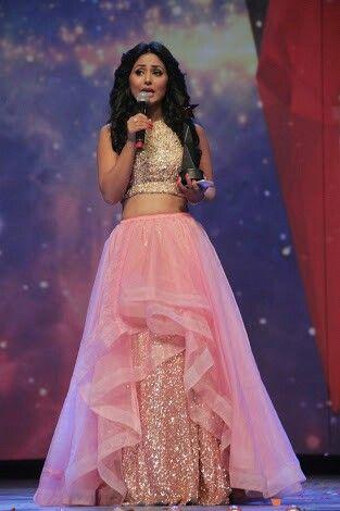 Beautiful Hina Khan Clothes Pinterest Lehenga Dresses And