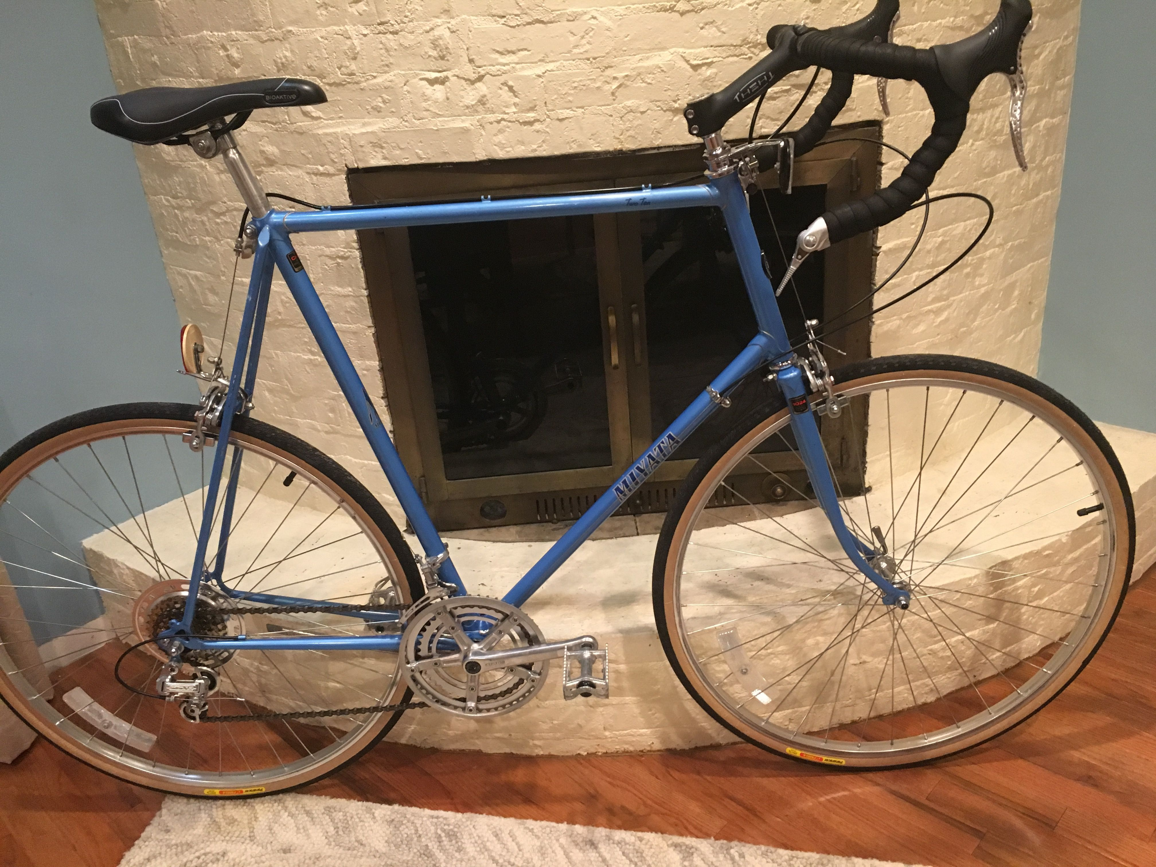 1981 Miyata Two Ten 68 5cm Bike Bicycle Ten