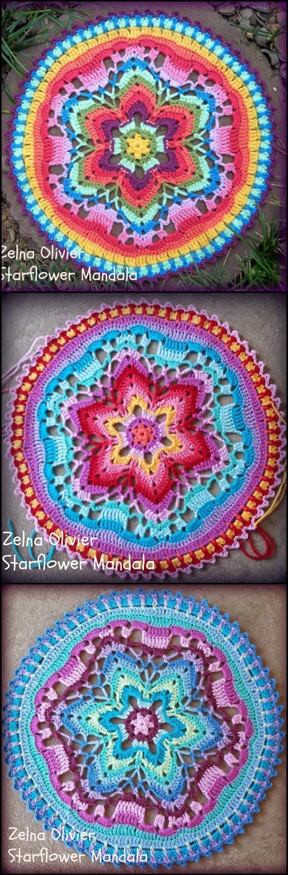 60+ Free Crochet Mandala Patterns - Page 2 of 12 | Mandalas ...