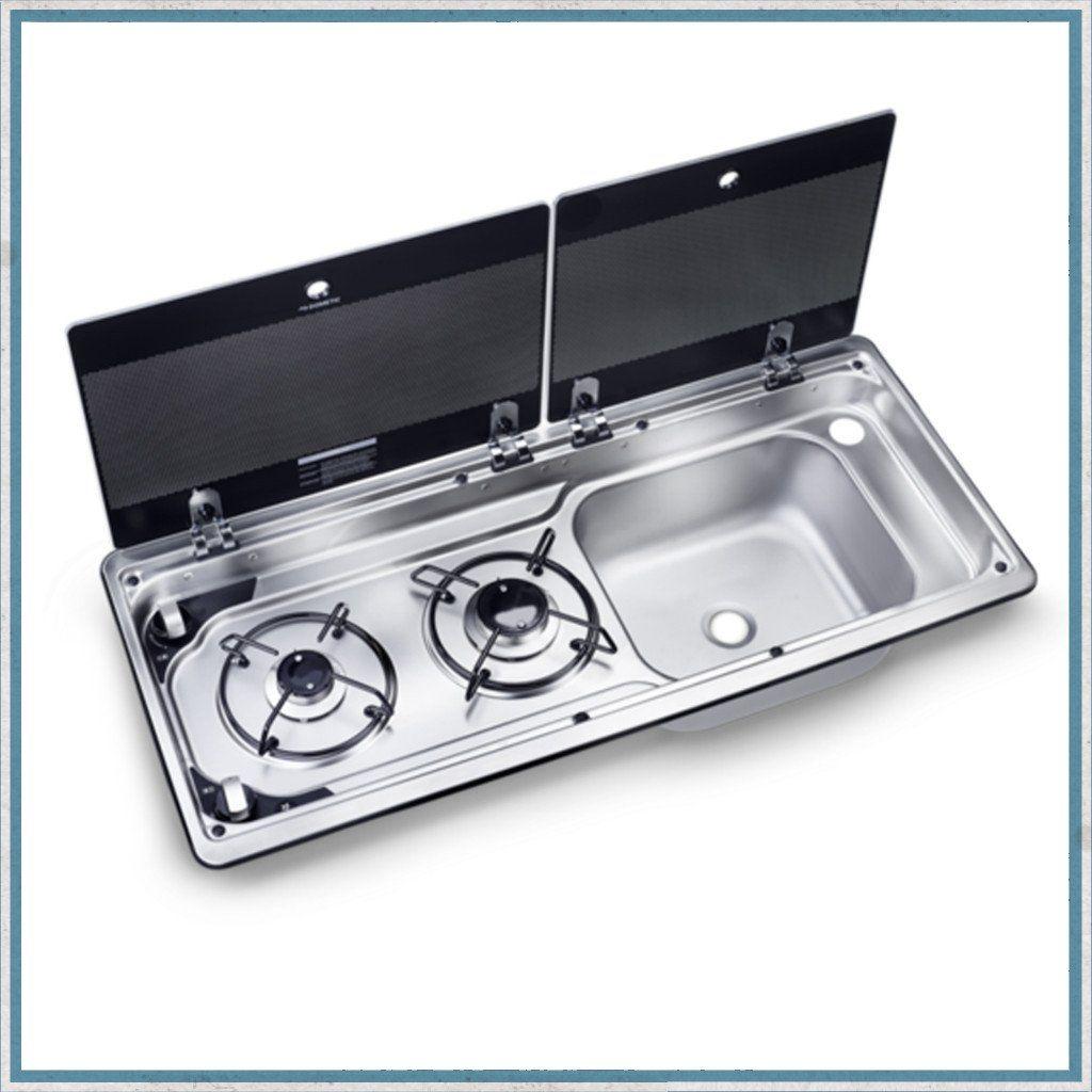 Smev 9722 Dometic Mo9722 Slimline Combination Hob And Sink Camper Kitchen Sink Hobs